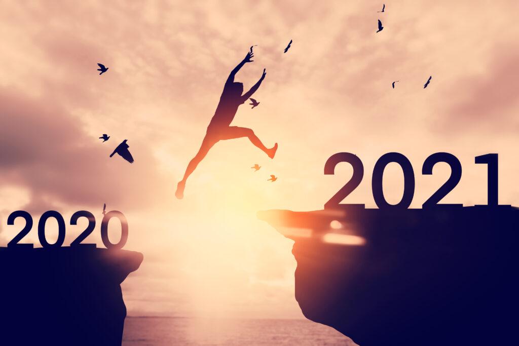2021年賀ページ 社長10年目の事業の近況と感じていること